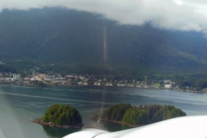 Sitka from above.
